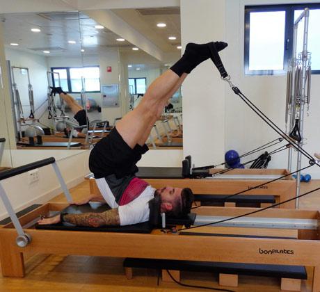 Pilates máquinas terapéutico